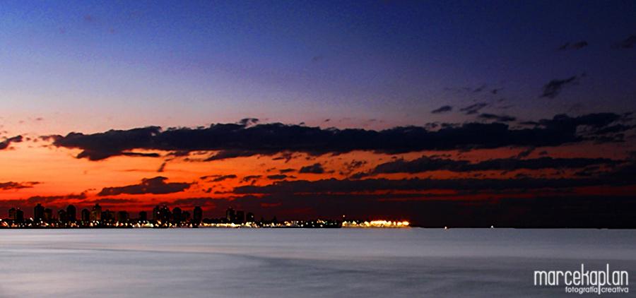 Foto de amanecer en Punta del Este - Marce Kaplan | Fotografía Creativa