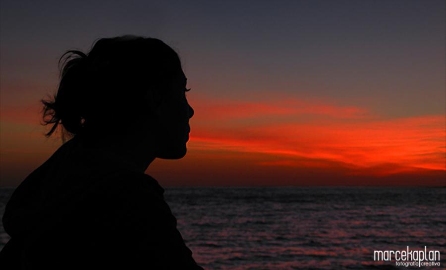 Atardecer en Punta del Este - Siluetas - Marce Kaplan | Fotografía Creativa
