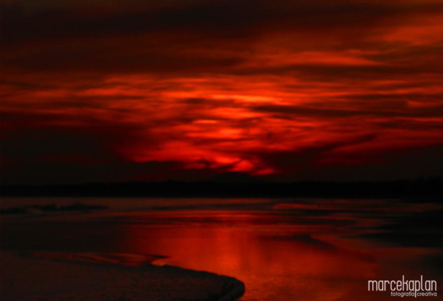 Atardecer en Portezuelo - Punta del Este - Fotógrafías Uruguay - Marce Kaplan | Fotografía Creativa