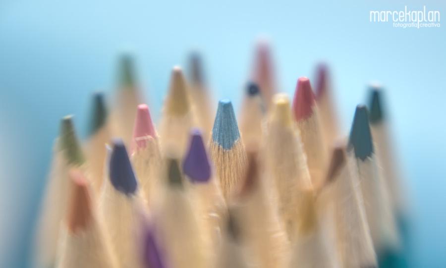 Lápices de colores - Marce Kaplan | Fotografía Creativa