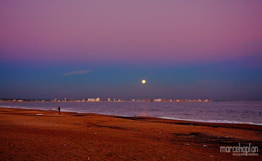 Atardecer en playa El Chiringo - Punta Ballena - Uruguay - Fotógrafo Marce Kaplan | Fotografía Creativa
