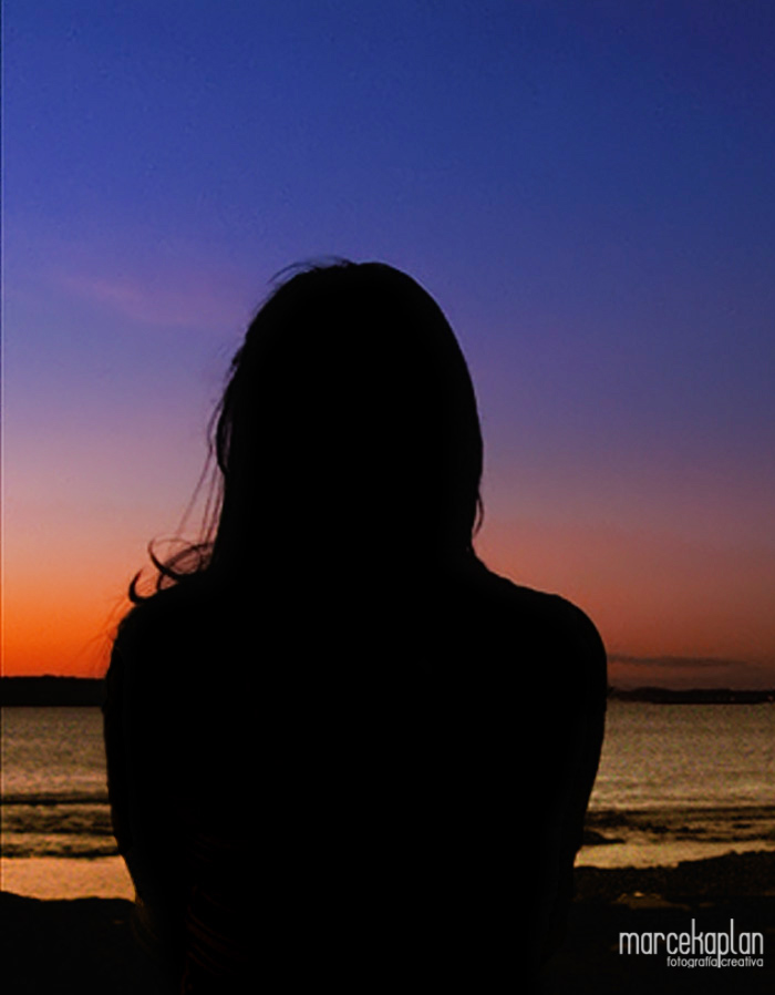 Silueta en atardecer de Punta del Este - Uruguay -  Fotógrafo Marce Kaplan | Fotografía Creativa
